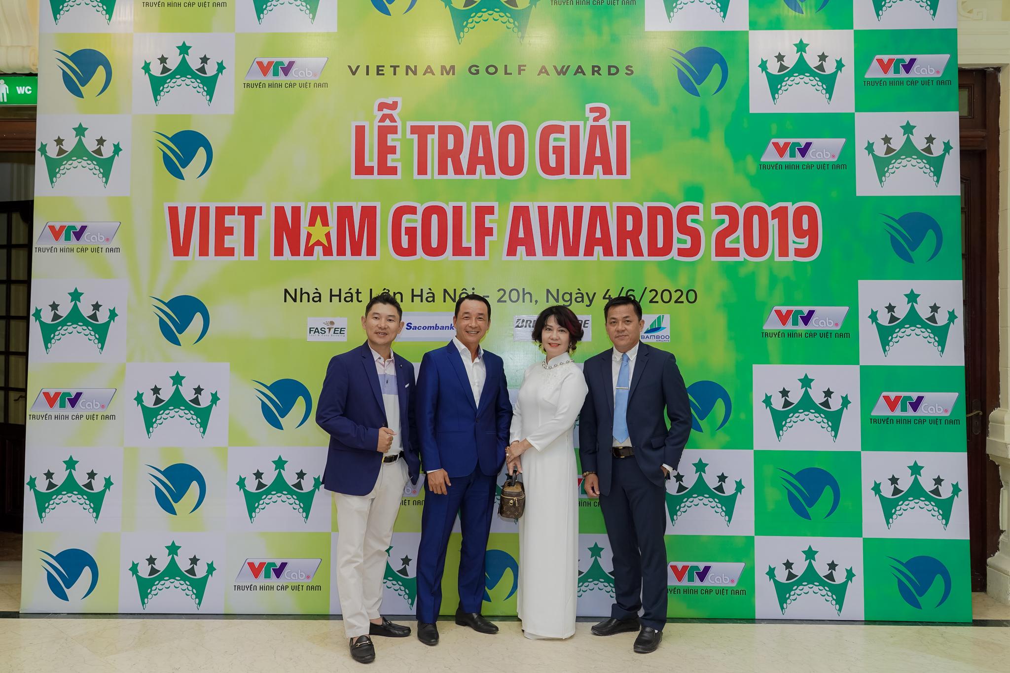 SÂN GOLF LONG BIÊN VÀ SÂN GOLF TÂN SƠN NHẤT ĐƯỢC VINH DANH TẠI LỄ TRAO GIẢI VIỆT NAM GOLF AWARDS 2019