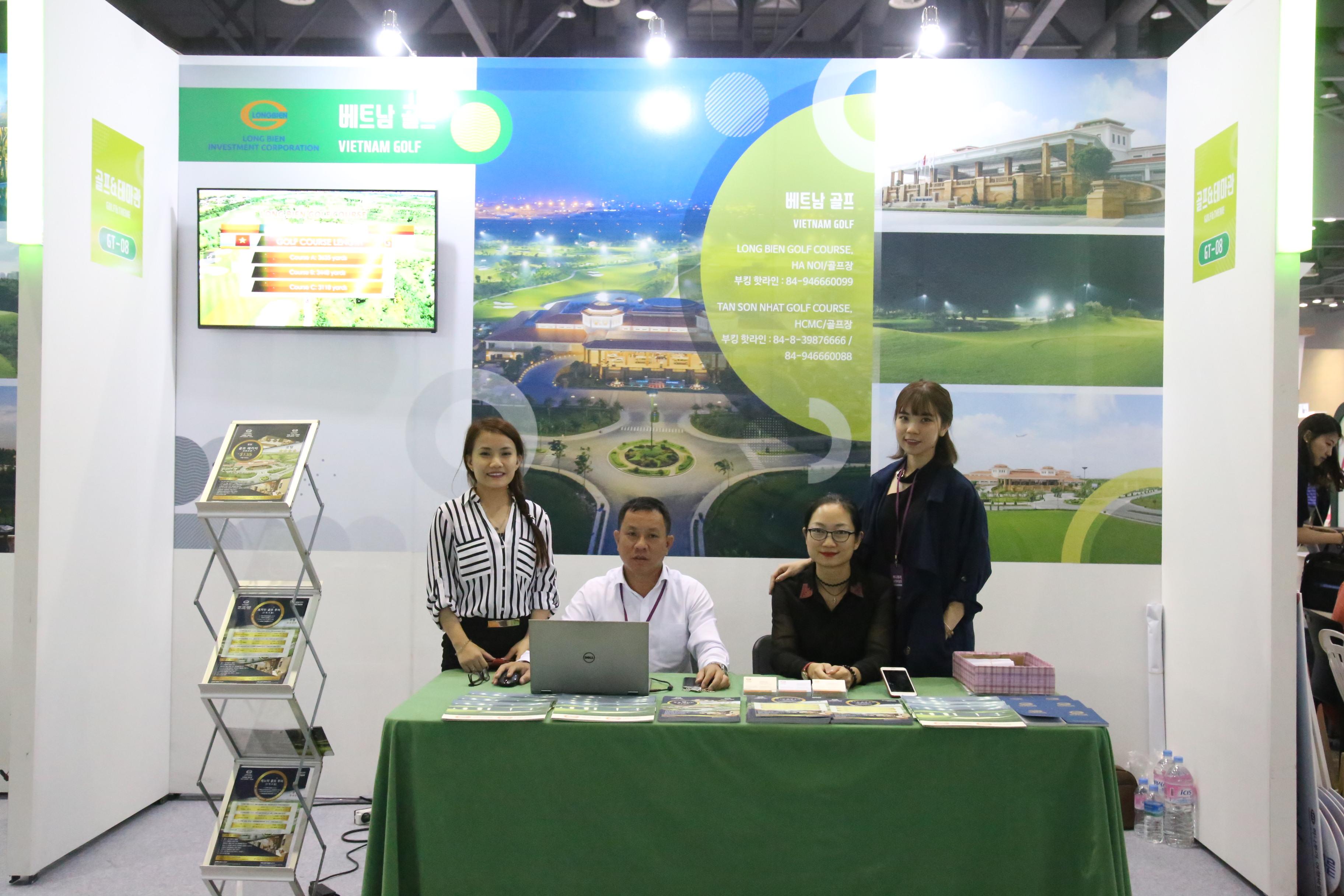 "Sân golf Tân Sơn Nhất tham gia Hội chợ du lịch quốc tế ""Hanatour International Travel Show 2017"""