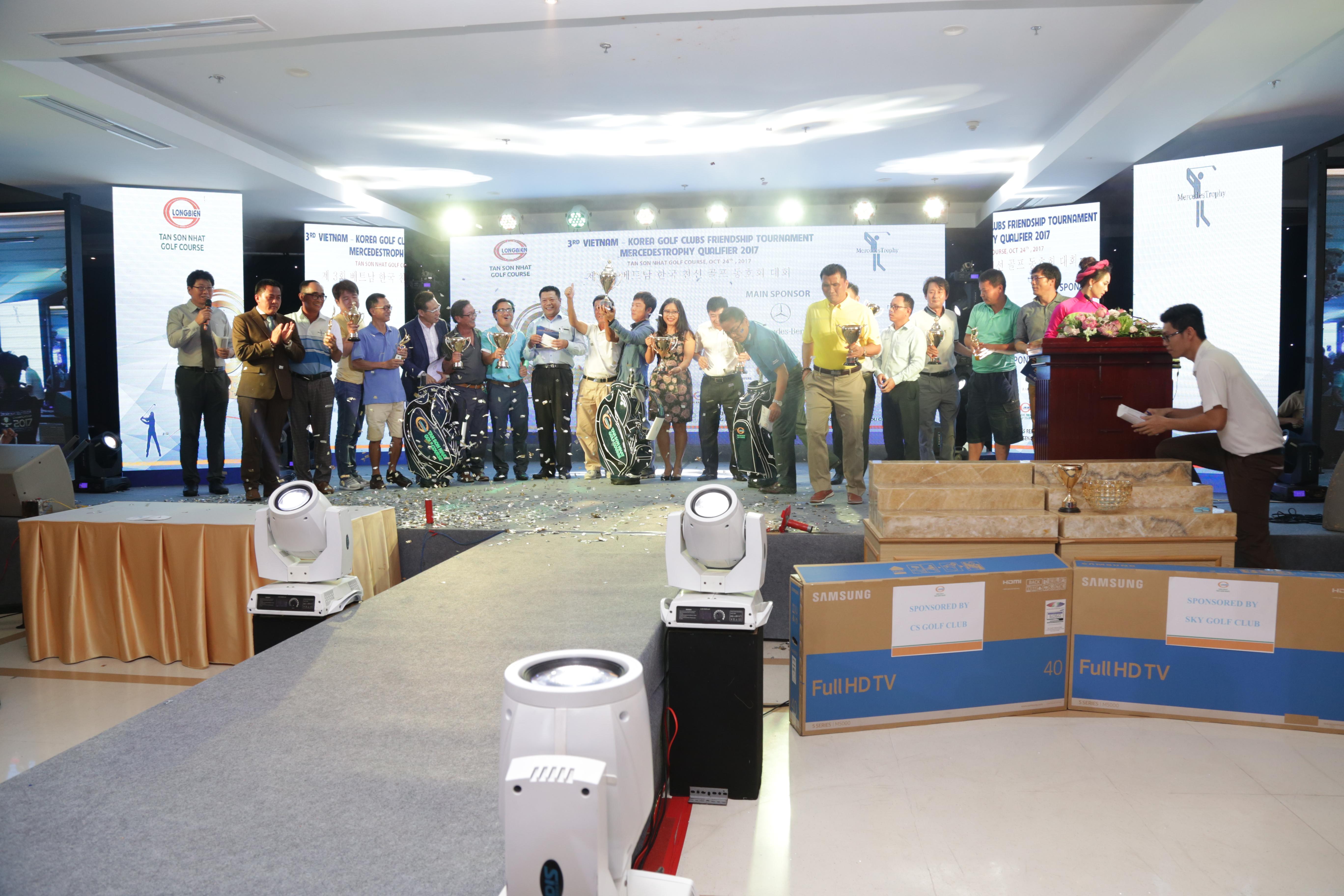 Giải golf giao hữu các câu lạc bộ Việt Nam – Hàn Quốc 2017
